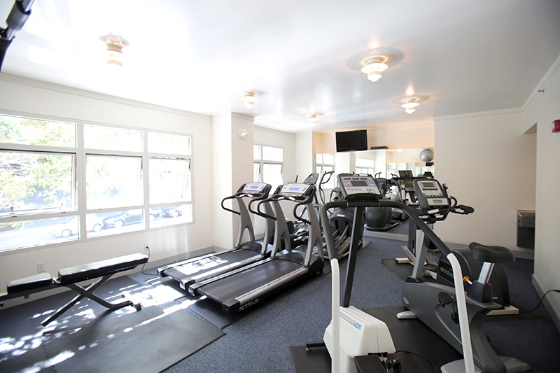Workout room at Portside