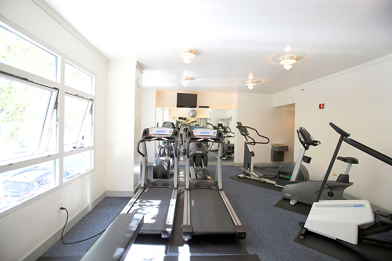 403 Main St workout room